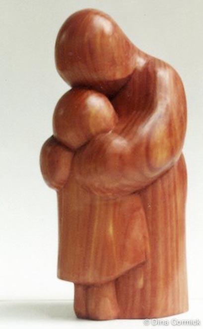 1979. Mother love. Cedar.