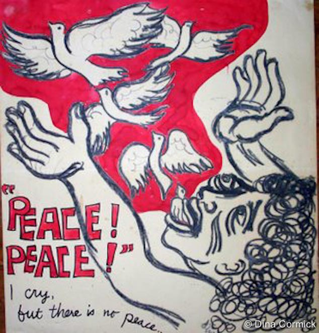 1982. Peace poster