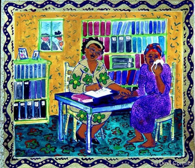 1996. Victoria Mxenge of Umlazi.
