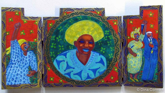 Adelaide Tambo of Soweto.
